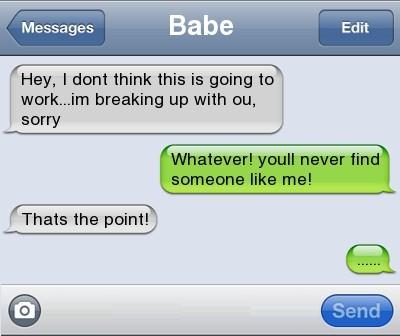 text-break-up-ii